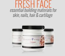 fresh face essential building materials for skin, nails, hair & cartilage